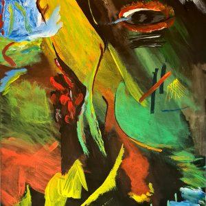 """Frida"" - Acryl auf Leinwand, 50 cm x 70 cm, 2020 , Mario Meier - 3.700 €"