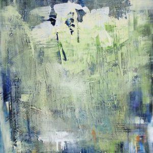 """ MAY IT BE EASIER "" - Acryl auf Leinwand, 100x80 cm, 2021 - 4.650 €"