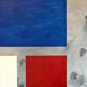 """Vorahnung"" - Acryl auf Leinwand, 50 cm x 50 cm, 2020, Mario Meier -  1.700 €"