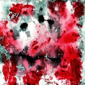 Amour Fou, Acrylic on canvas, 40x40 cm, 2013