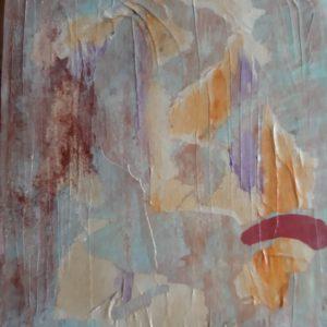 Caveman I, Mixed Media on canvas, 24x30 cm , 2009 - Kopie
