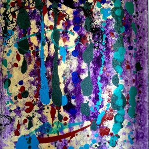 Lost Tears, Mixed Media on canvas, 60x80 cm, 2008