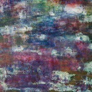 Monet's Garden Revisited, Acrylic on canvas, 50x50 cm, 2021