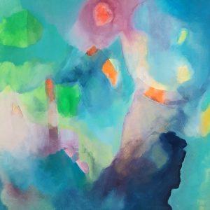 S.i.K., Acrylic Mixed Media on canvas on wood,60x70 cm, 2015