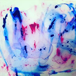 Sonnet 18 , Acrylic on canvas, 60x80cm, 2009