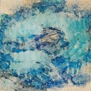o.T., Acrylic on canvas, 40x40 cm, 2018