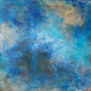 o.T. Acrylic on canvas, 40x40 cm , 2018